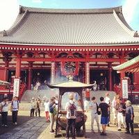 7/19/2013 tarihinde Maiki M.ziyaretçi tarafından Senso-ji Temple'de çekilen fotoğraf
