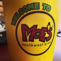 Photo taken at Moe's Southwest Grill by Rachel F. on 6/3/2013
