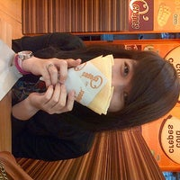 Photo taken at O' crepes margo city by Hana t. on 6/5/2013