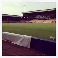 Photo taken at Vale Park by Richard B. on 7/23/2013