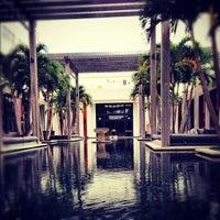 Photo taken at The Setai Miami Beach by Maurizio C. on 11/6/2012