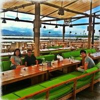 Photo taken at Lantaw Native Floating Restaurant by AZel C. on 5/10/2013