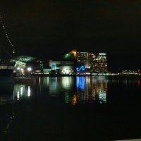 Photo taken at Inner Harbor by Chris B. on 2/28/2013