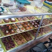 Photo taken at Marge's Donut Den by Steve K. on 10/24/2012