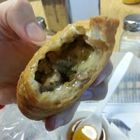 Photo taken at Empa Mundo - World of Empanadas by Melisa R. on 3/23/2014