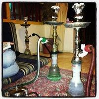 Photo taken at Alwan Hookah Bar by Basim W. on 2/9/2013
