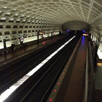 Photo taken at Crystal City Metro Station by Mark F. on 11/14/2012
