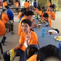 Photo taken at MOE Changi Coast Adventure Centre by Marina on 12/5/2012