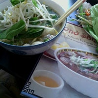 Photo taken at Phở SàiGòn by Anthony S. on 10/5/2012
