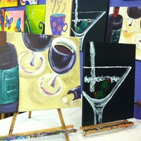 Photo taken at Paint by the glass by Brandi E. on 10/7/2012