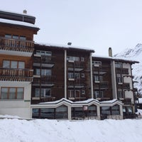 Das Foto wurde bei Hotel Europa - Restaurant Carnotzet - Saas-Fee von Beat A. am 1/18/2014 aufgenommen