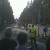 Photo taken at München Marathon by Olix on 10/12/2014