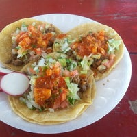 Photo taken at El Super Antojito-Taco Truck by David J. F. on 9/29/2013