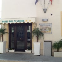 Photo taken at Hotel Baia di Venere by Diego F. on 7/4/2013