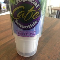 Photo taken at Tropical Smoothie Cafe One Loudoun by Theo A. on 3/11/2014