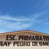 Photo taken at Escuela Fray Pedro de Gante y Leona Vicario by Angel A. on 4/30/2013