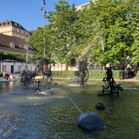 Foto diambil di Tinguely-Brunnen oleh Aliss K. pada 6/2/2018