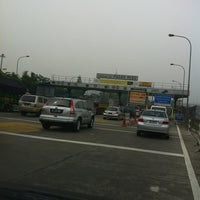 Photo taken at Gerbang Tol Pasar Rebo by Septianus S. on 11/3/2012