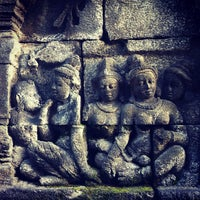 Photo taken at Borobudur Temple by Maggie W. on 2/4/2013