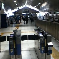 Photo taken at Shin-Sugita Station by Owen L. on 4/27/2013