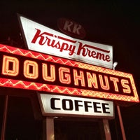 Photo taken at Krispy Kreme Doughnuts by Mary W. on 2/9/2013