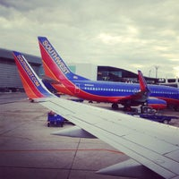Photo taken at BWI Southwest Airlines by Anna Grace P. on 12/21/2012