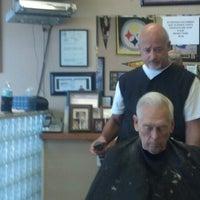 Photo taken at Franco's MVP barber shop by Chris T. on 11/8/2012