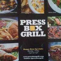 8/5/2013 tarihinde A G.ziyaretçi tarafından Press Box Grill'de çekilen fotoğraf