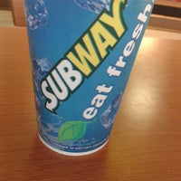 Photo taken at Subway by Karina A. on 9/18/2013