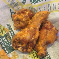Photo taken at Quaker Steak & Lube Pohatcong by Kathleen L. on 1/17/2015