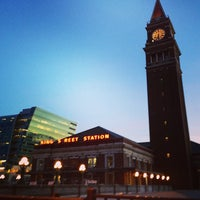 Photo taken at King Street Station (SEA) by Kerry M. on 2/2/2013