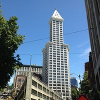 Photo taken at Smith Tower by Kerry M. on 8/16/2013
