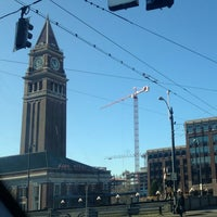 Photo taken at King Street Station (SEA) by Kerry M. on 1/11/2013