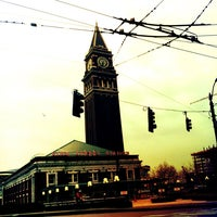Photo taken at King Street Station (SEA) by Kerry M. on 3/5/2013
