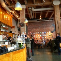 Photo taken at Zeitgeist Kunst & Kaffee by Kerry M. on 1/11/2013