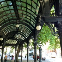 Photo taken at Pioneer Square Pergola by Kerry M. on 7/2/2013