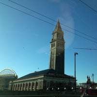 Photo taken at King Street Station (SEA) by Kerry M. on 1/3/2013