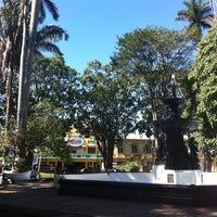 Photo taken at Parque Central de Alajuela by Jonathan S. on 6/16/2013