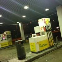 Photo taken at Shell Herfølge by Kim J. on 4/24/2013