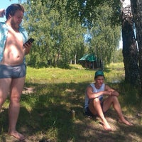 Photo taken at Озеро на Юбилейке by Андрей Т. on 7/14/2013