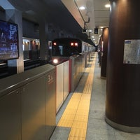 Photo taken at Marunouchi Line Otemachi Station (M18) by Byeonghyun L. on 8/17/2018