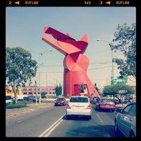 Photo taken at Glorieta Nezahualcoyotl by Juan M R. on 11/9/2013