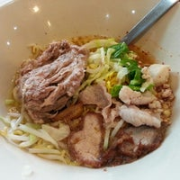 Photo taken at Cha Kang Raw The Noodle by Arlies C. on 1/8/2013