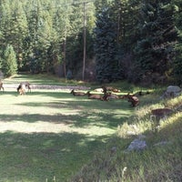 Photo taken at Bancroft Meadows and Labyrinth by Amber D. on 9/29/2012