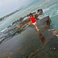 Photo taken at Pantai Karang Hau by yhicuaa d. on 2/11/2014
