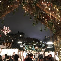 Photo taken at Union Square Holiday Market by Joshua G. on 12/3/2017