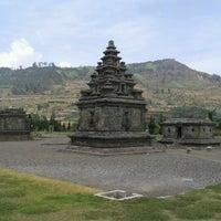 Photo taken at Kompleks Candi Arjuna by Dewi P. on 9/17/2012
