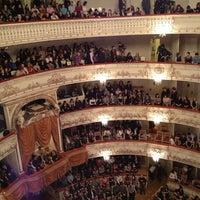 Снимок сделан в Михайловский театр пользователем Артем 4/6/2013