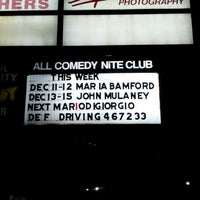 Photo taken at Capitol City Comedy Club by Javier R. on 12/15/2012