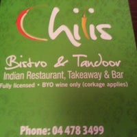 Photo taken at Chilis Indian Restaurant by Tim T. on 3/12/2013